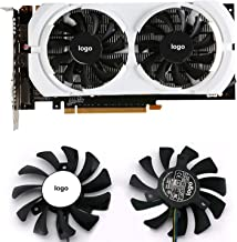 75mm HA8010H12F-Z for MSI GEFORCE GTX 950 Graphics Video Card Cooling Fan 4pin Fan Cooling