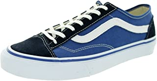 Vans Men's Old School Suede and Suiting Skateboarding Shoes