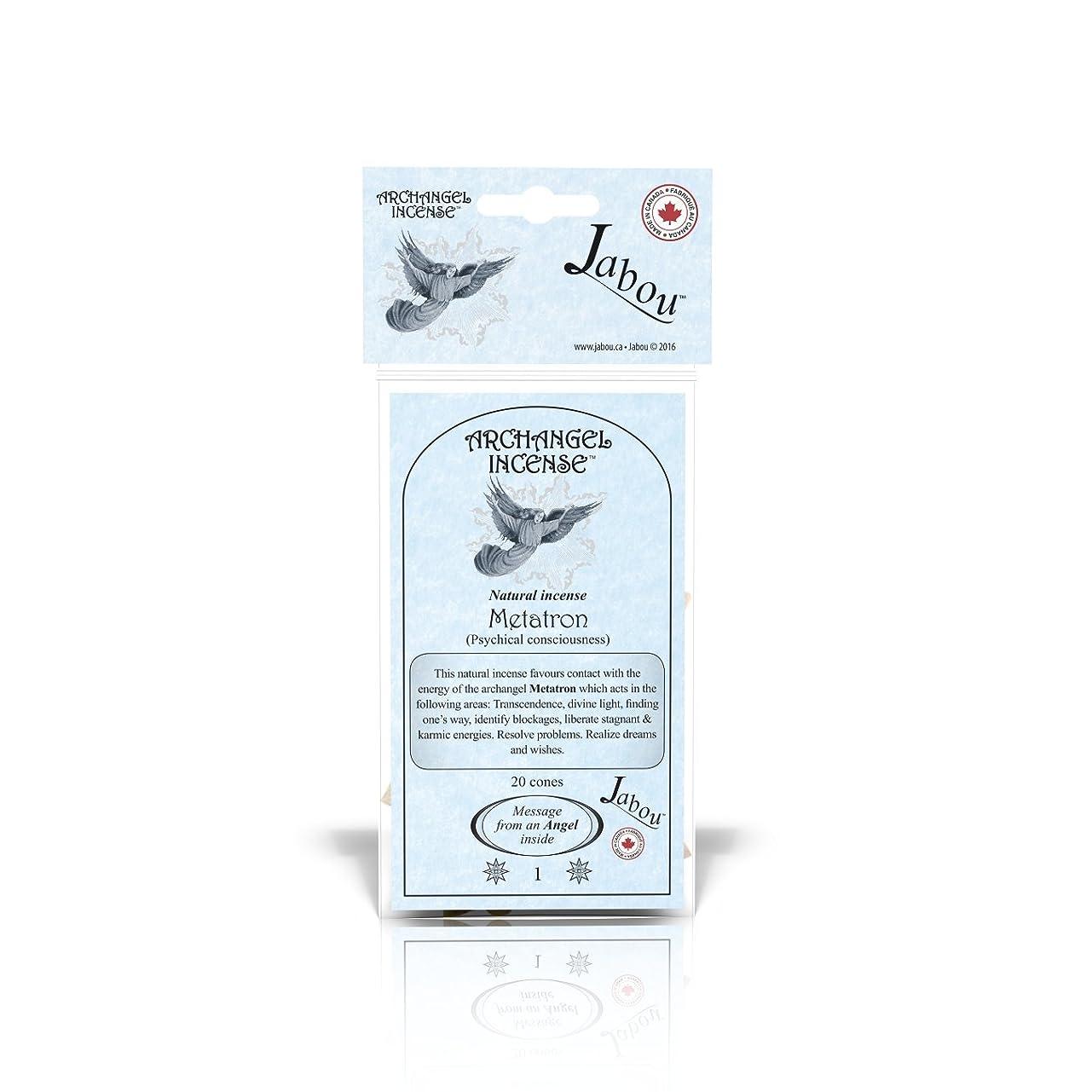 告白レーニン主義下手Jabou 大天使 100%天然お香 コーン - 12個の香り - 瞑想 ヨガ リラクゼーション マジック ヒーリング 祈り 儀式 - 20個のコーン - 各30分以上持続