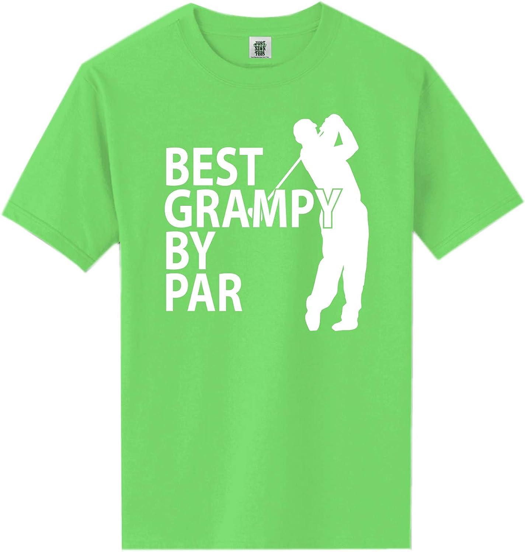 zerogravitee Best Grampy by Par Short Sleeve Neon Tee