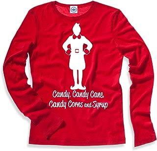 Hank Player U.S.A. Elf Major Food Groups Long Sleeve Kid's T-Shirt