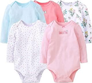 r.b.hickory B/éb/é Filles Barboteuses Tutu Combinaisons en Coton Grenouill/ères Pyjama /à Manches Longues V/êtements de Naissance