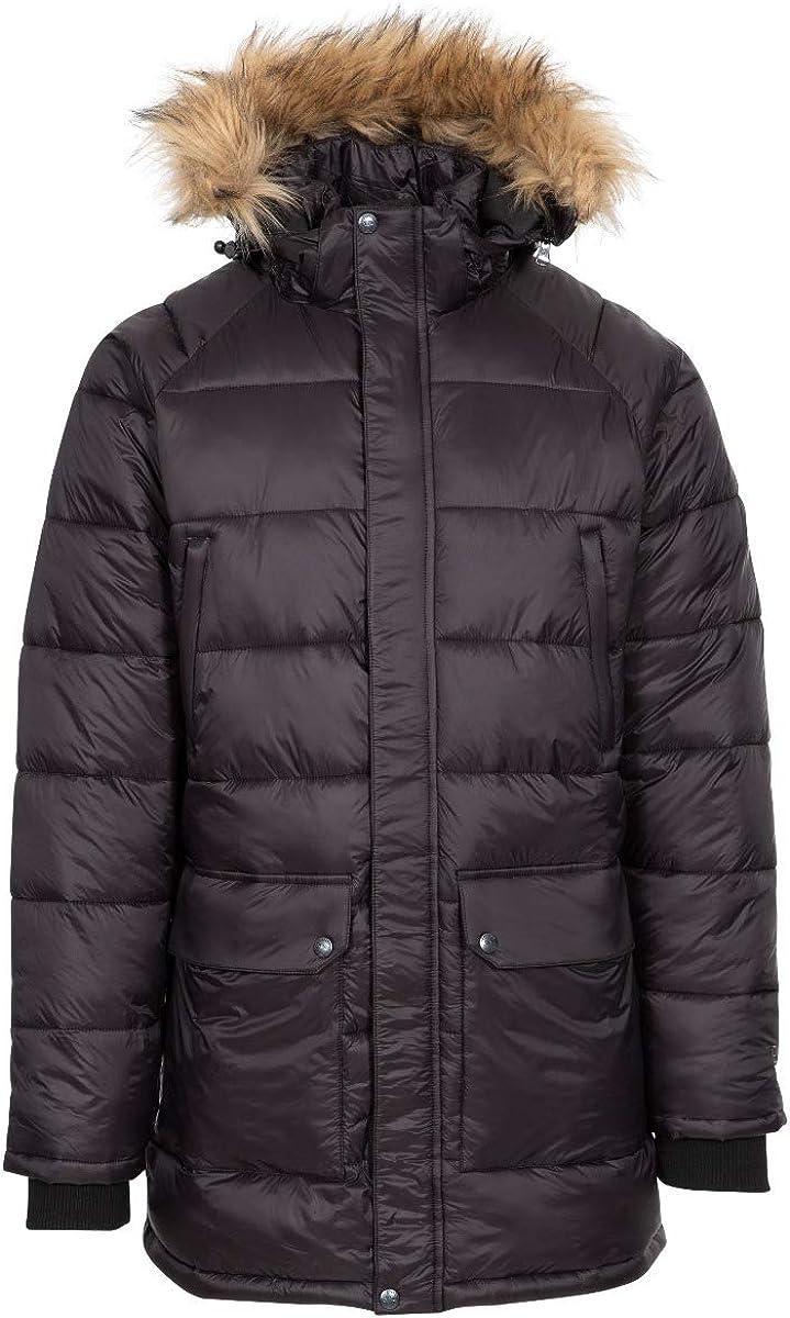 Waldridgeton Mens Padded Jacket with Adjustable Zip Off Hood