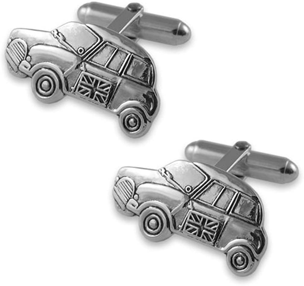 Sterling silver National uniform free shipping Spring new work one after another Mini car cufflinks