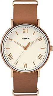 Timex Men's Southview 41mm Leather Strap |Tan| Dress Watch TW2R28800