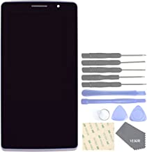 VEKIR Cell Phones Replacement Parts for LG G Stylo LS770 H634 Complete LCD Display Touch Digitizer Screen Assembly + Screen Frame(Silver)