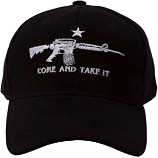 Come and Take It Black Adjustable Cap
