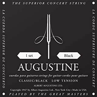Augustine Classical Guitar Strings (HLSETBLACK)