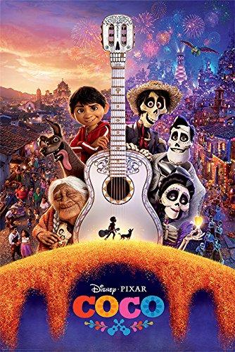 Coco 'Gitarre' Maxi Poster,61 x 91.5 cm