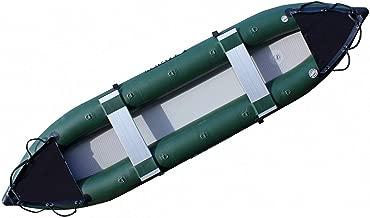 13' Fishing Inflatable Kayak. Heavy-Duty Pro Angler Fishing Kayak Canoe. Blow up Fishing Boat.