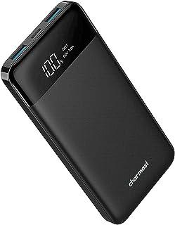 Powerbank 10400mAh, USB C Caricabatterie Portatile con LED Digitale Display Batteria Esterna Portatile con 2 ingressi e 3 ...