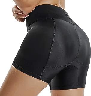 KIWI RATA Womens Seamless Butt Lifter Padded Lace Panties Enhancer Underwear - Black - XXXXX-Large