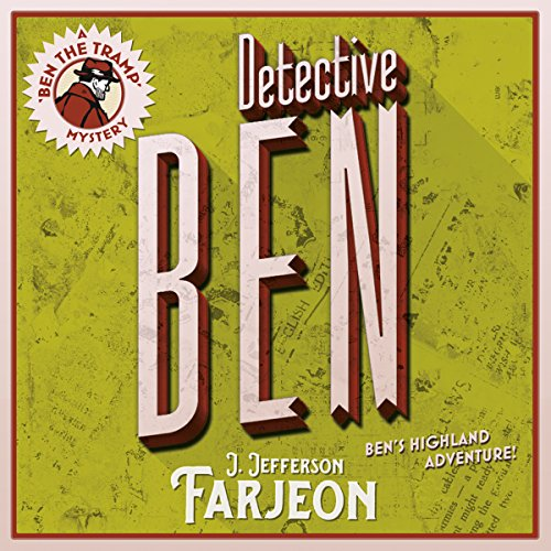 Detective Ben audiobook cover art