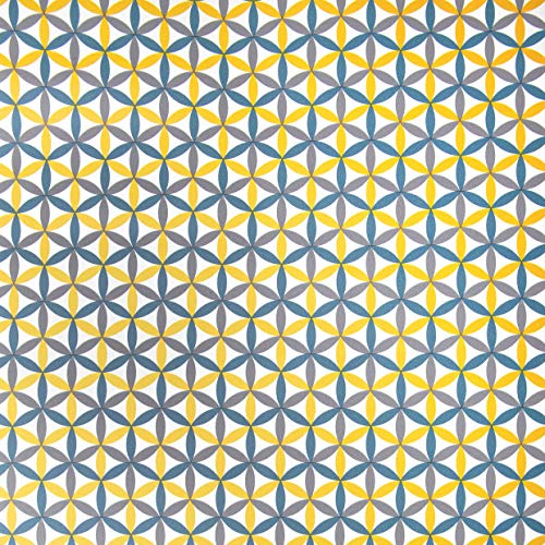 Venilia 54920 - Adhesivo decorativo para muebles, PVC, sin ftalatos, 160 µm (0,16 mm de grosor), diseño de Charleston