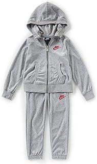 Nike Little Girls Velour Hoodie & Jogger Set