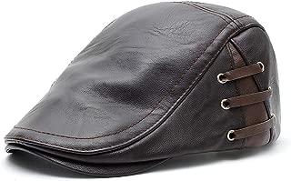 Fityle Vintage Cotton Flat Cap Hat Ivy Gatsby Newsboy Hat Irish Cabbie Hat for Men