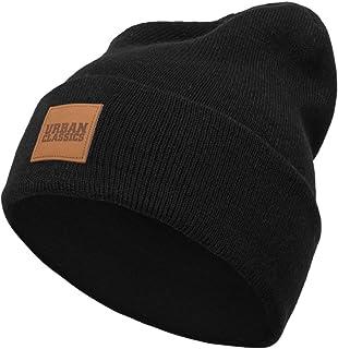 Urban Classics czapka zimowa UNISEKS Leatherpatch Long Beanie