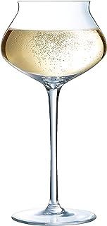 Chef&Sommelier N6386 Pack de 6 coupes à Champagne Macaron Fascination, 30 cl, en cristallin, Transparent