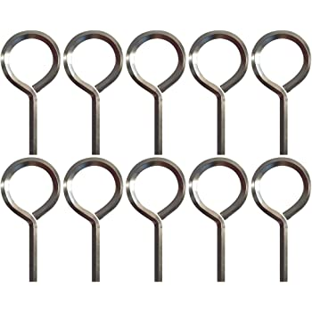 "7//32/"" Hex Dogging Key with Full Loop Allen Wrench Door Key for Push Bar Panic Exit Devices Crash Bar solid Metal 5 Packs Gym door"