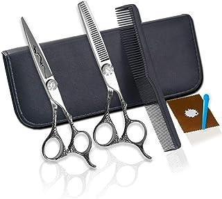 Hair Cutting Scissors Razor Edge Styling Shear Hair Cutting Scissors for Stylish Hairdresser Professional Barber Hairdress...