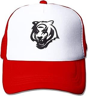 Franklin Sports Unisex Boys Youth Cincinnati Bengals Adjustable Sports Fashion Outdoor Floral Baseball Cap Trucker Hats