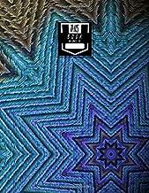 Guitar Tab Notebook: Peacock Kaleidoscope  - Blank Guitar Tablature, Large Notebook