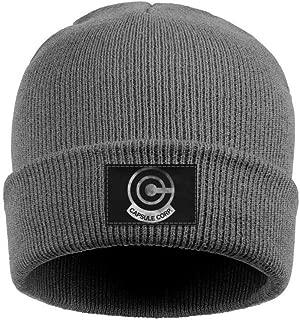 Women Mens Beanie Hat Capsule-Corp-Dragon-Ball-Vintage-Old- Multifunction Ski Caps