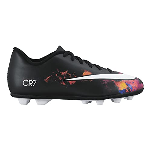 6ac01690de76b NIKE Junior Mercurial Vortex II CR FG-R- (Black White-Total