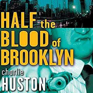 Half the Blood of Brooklyn audiobook cover art