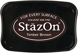 Rayher Tampon encreur StazOn en plastique Marron foncé
