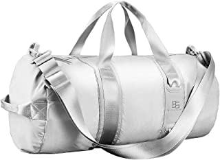 Ultralight Travel Duffel Bag for Women Men, Sport Duffel Bag for Gym,Waterproof,Silver