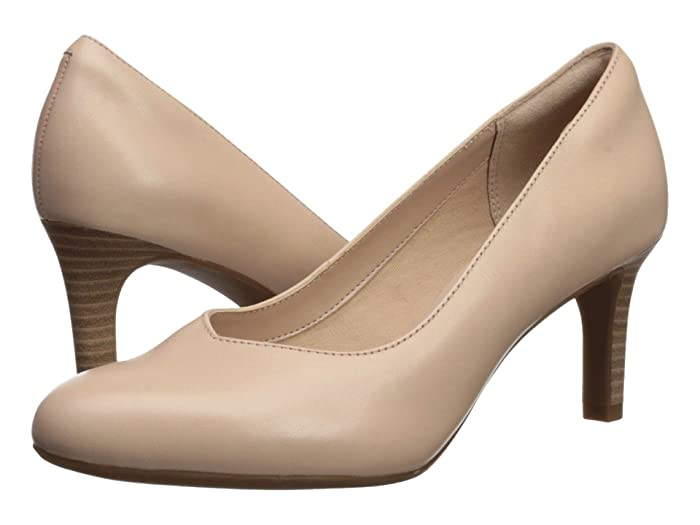 Clarks  Dancer Nolin (Blush Leather) Womens  Shoes