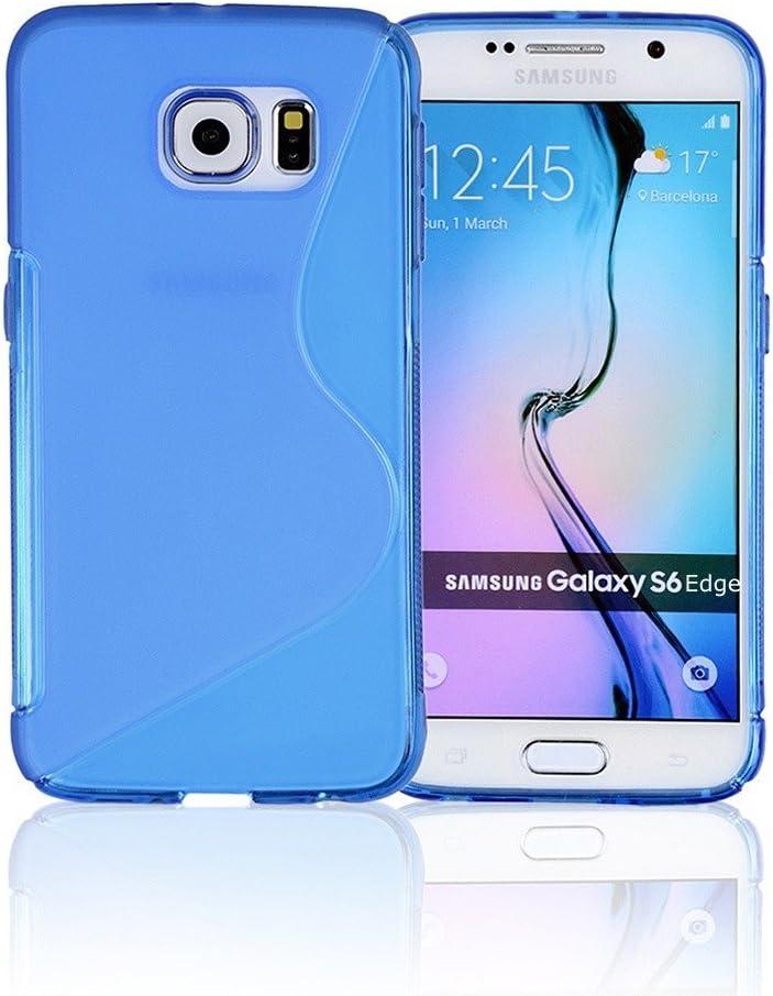 Galaxy S6 Coque, Galaxy S6 Cases, compatible avec Samsung Galaxy S6 SIV S IV i9600 – Soft Shell Housse skin Cases par câble et coque