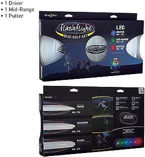 Nite Ize NITEZLE Flashlight LED Disc Golf Set One Color One Size