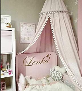 /Cr/ème/ /Rose/ Magnifique Ciel de lit Taille unique pour tous/ /Blanc /Lilas/