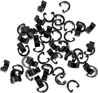 MagiDeal 50pcs Bicycle MTB C-Clips Buckle for Disc Brakes Outer Cable Frame Guides