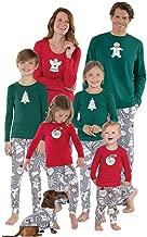 Meijunter Christmas Family Matching Pajama Set Women Men Kids Xmas Pjs Nightwear