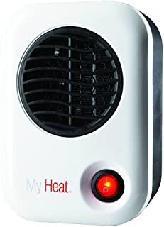 Lasko 101 My Heat Personal Heater, White, Compact