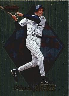 1999 Bowman's Best #61 Mark Grace MLB Baseball Trading Card