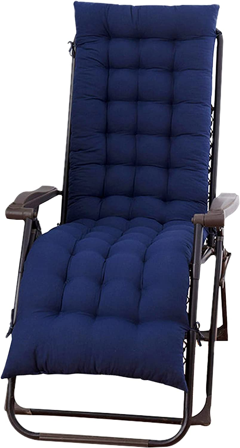 Inexpensive ELFJOY Sale Special Price Chaise Lounge Cushions with Overstuffed Ties Soft Rocking