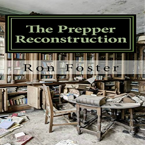 The Prepper Reconstruction audiobook cover art