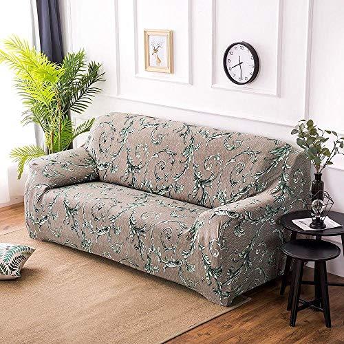 HXTSWGS Sofa Cover Protección de Muebles,Funda elástica para Asiento de sofá, Funda Protectora Lavable para sofá Funda decorativa-G274678_190-230cm