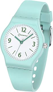 Kids Watch Analog, Teens Child Quartz Waterproof Wristwatch with for Kids Boys Girls,Time Teach Watches Easy to Read Time with Soft Silicone Band,with Gift Box