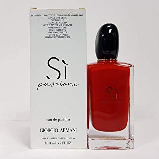 Gorgio Armani Giorgio Armani Si Passione Eau de Parfum Spray for Women 100ml (Tester)  100ml