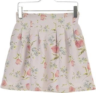 (ダズリン) Dazzlin' 花柄タック スカート