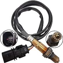 Automotive-leader 17025 LSU 4.9 5-Wire WideBand JSB-7025 Oxygen Sensor for 2011-2015 Ford Toyota Honda Chevrolet PLX AEM 30-4110 0258017025 X Series AFR Inline Controller UEGO Air Fuel Ratio 02 Gauge