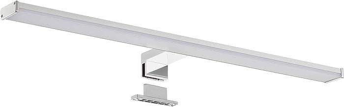 SEBSON® LED Spiegellamp 60cm, Badkamer Verlichting IP44, Spiegelkast Lamp Neutraal Wit 4000K 12W, 900lm, Spiegelverlichtin...