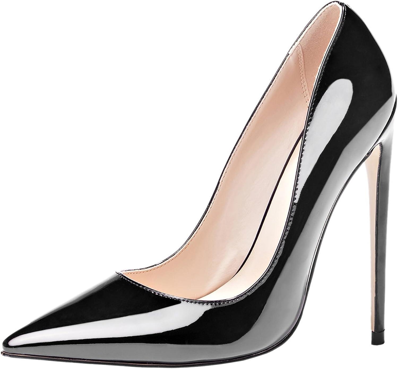 MAVIRS High Heels, Women Pumps Pointed Toe Pumps High Heel Stilettos Slip-On Dress shoes for Party
