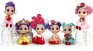 Astra Gourmet 6 Pack Adorable Dolls for Baby Girls, 4.5