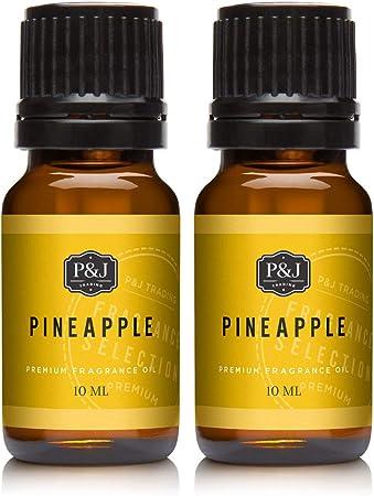 Amazon Com Pineapple Fragrance Oil Premium Grade Scented Oil 10ml 2 Pack Health Personal Care
